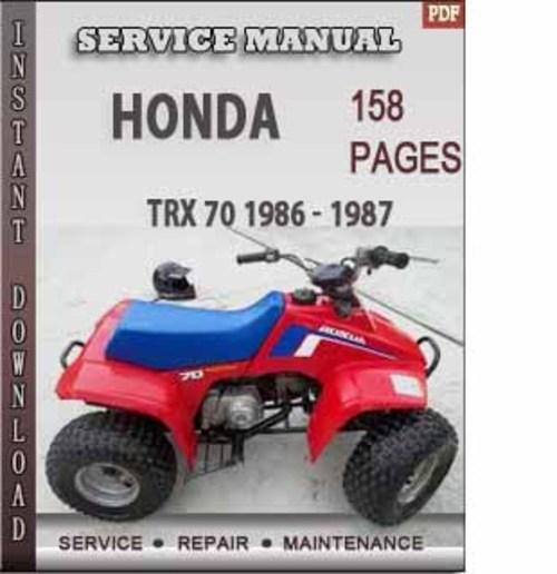 Honda Trx 70 1986