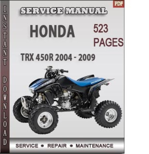 450r manual service trx focusrutracker honda trx450r service manual pdf honda trx450r service manual pdf