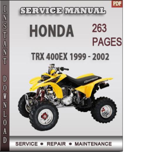 Honda Trx 400ex 1999