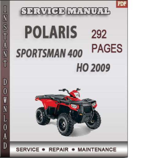 polaris sportsman 400 ho service manual open source user manual u2022 rh dramatic varieties com Polaris 400 Sportsman Manual Online Polaris Sportsman 400 2001 Snow