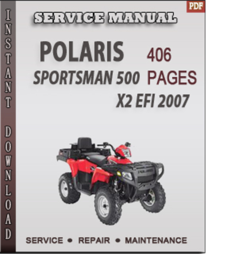 Polaris sportsman 500 x2 efi 2007 factory service repair manual dow pay for polaris sportsman 500 x2 efi 2007 factory service repair manual download sciox Choice Image