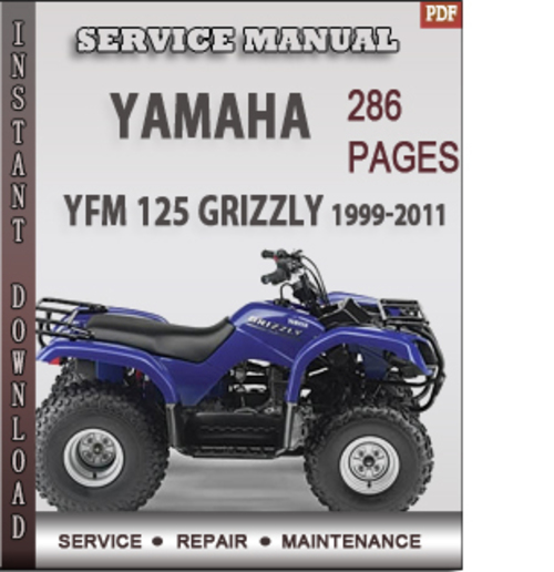 yamaha yfm 125 grizzly 1999 2011 factory service repair manual down rh tradebit com yamaha grizzly 125 service manual download yamaha grizzly 125 workshop manual