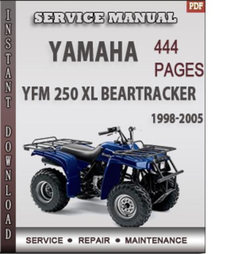 Yamaha Yfm 250 Xl Beartracker 1998