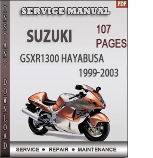suzuki gsxr1300 hayabusa 1999 2003 factory service repair manual do rh tradebit com hayabusa service manual pdf hayabusa repair manual download