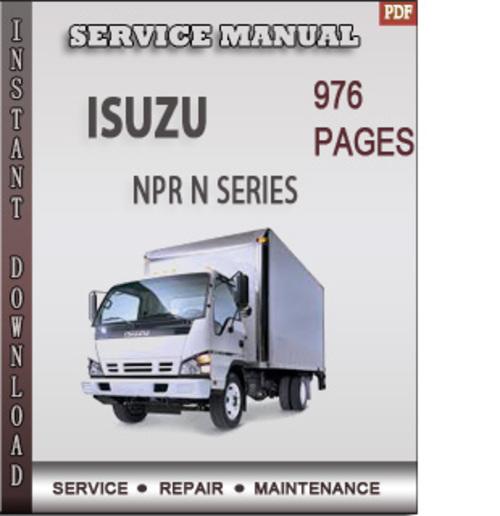 isuzu npr n series factory service repair manual download. Black Bedroom Furniture Sets. Home Design Ideas