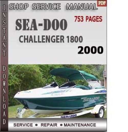 2000 seadoo challenger shop manual user guide manual that easy to rh 6geek co