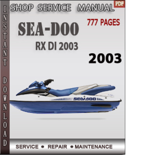 seadoo rxdi shop manual open source user manual u2022 rh dramatic varieties com Service ManualsOnline 2001 seadoo rx di service manual