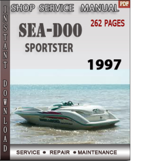 seadoo sportster 1997 shop service repair manual download downloa rh tradebit com Sea-Doo Speedster 200 Review 2004 Sea-Doo Speedster 160