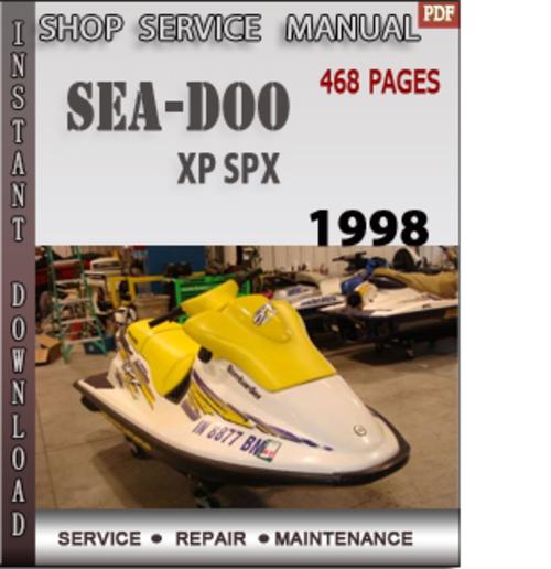 98 Seadoo Gsx Shop Manual