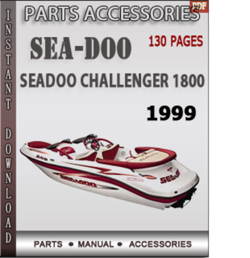 seadoo challenger 1800 1999 parts accessories catalog manual down rh tradebit com 1999 seadoo challenger 1800 repair manual 1999 seadoo challenger 1800 service manual