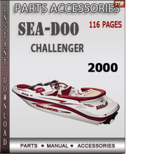 seadoo challenger 2000 parts accessories catalog manual down down rh tradebit com 1996 sea doo gti parts manual 1994 sea doo parts manual