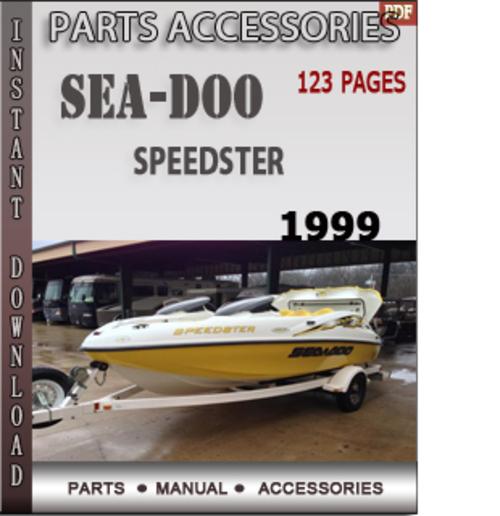 1999 Seadoo Challenger 1800 Parts Manual - Operating Manual