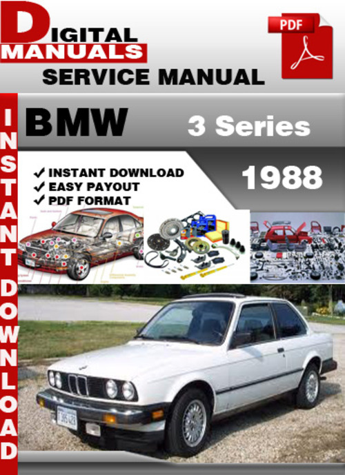 Bmw 3 Series 1988 Factory Service Repair Manual