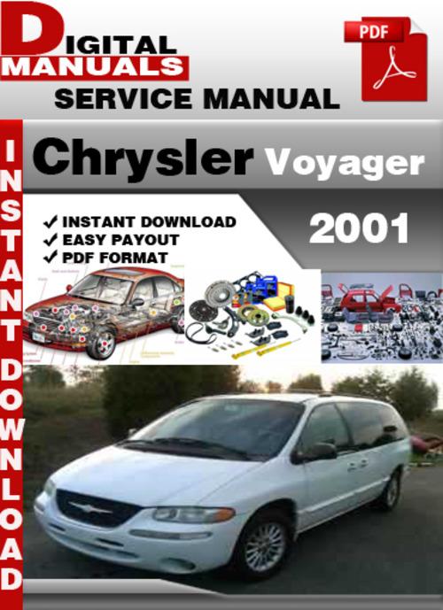 2001 dodge caravan repair manual