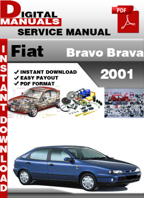Pay for Fiat Bravo Brava 2001 Factory Service Repair Manual