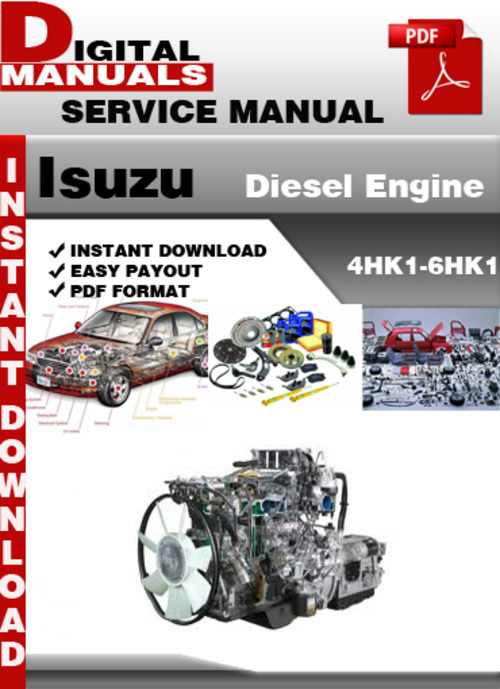 Isuzu Diesel Engine 4HK1-6HK1 Factory Service Repair Manual