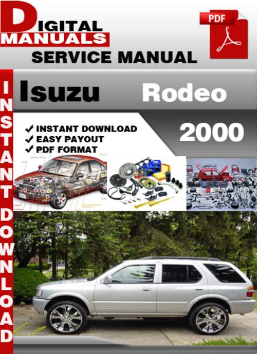 Isuzu Rodeo 1998 Service Manual