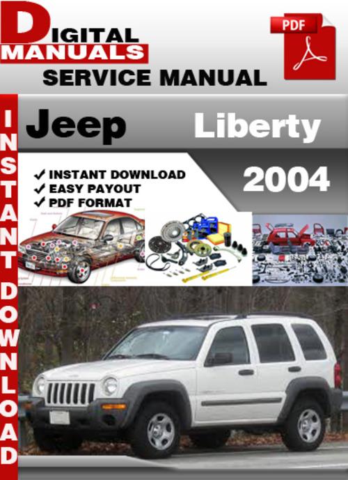 Jeep Liberty 2004 Factory Service Repair Manual Download Manuals Rh  Tradebit Com Jeep Liberty 2004 Service Manual Pdf 2004 Jeep Liberty Parts  Catalog