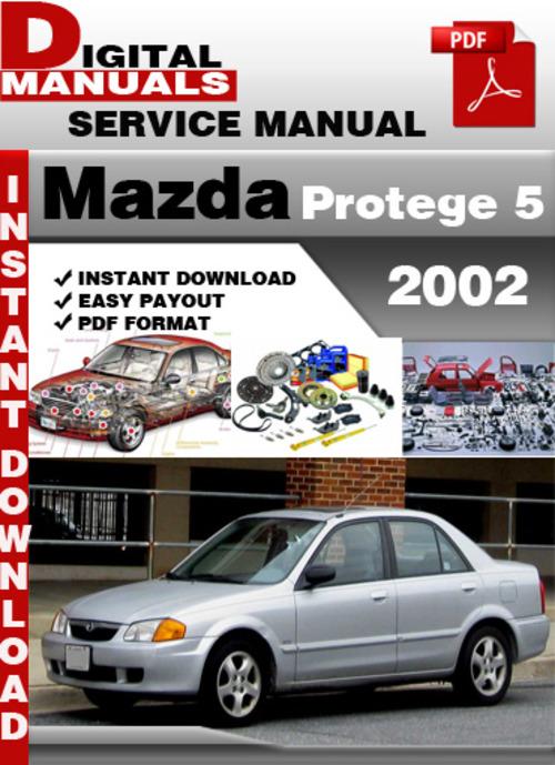 mazda protege 5 2002 factory service repair manual. Black Bedroom Furniture Sets. Home Design Ideas
