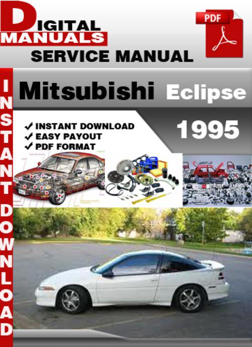 mitsubishi eclipse 1995 factory service repair manual download ma rh tradebit com 1995 Eclipse GSX 1995 Eclipse GST