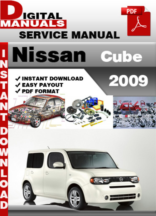 service manual pdf 2009 nissan cube transmission service. Black Bedroom Furniture Sets. Home Design Ideas