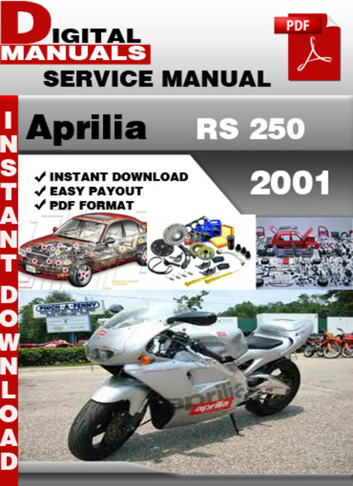 Free Aprilia RS 250 2001 Factory Service Repair Manual Download thumbnail