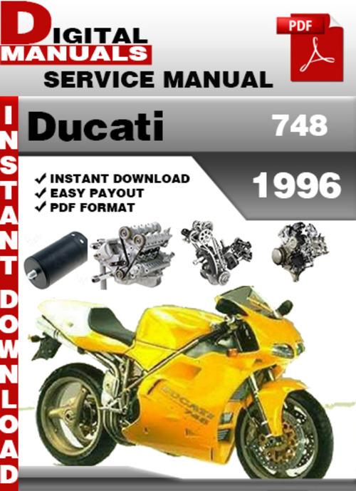 Ducati 748 1996 Factory Service Repair Manual