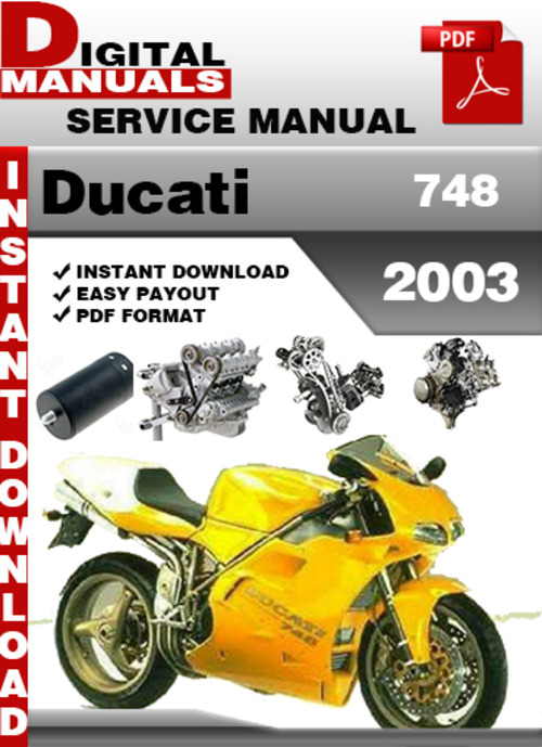 ducati 748 2003 factory service repair manual download. Black Bedroom Furniture Sets. Home Design Ideas