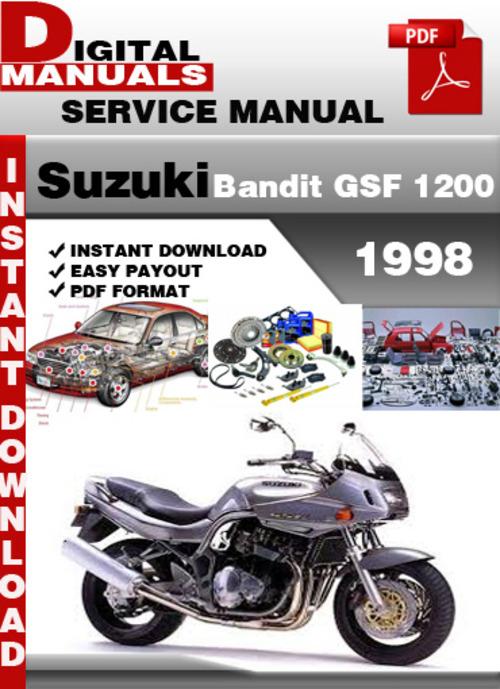 Free Suzuki Bandit GSF 1200 1998 Factory Service Repair Manual Pd Download thumbnail