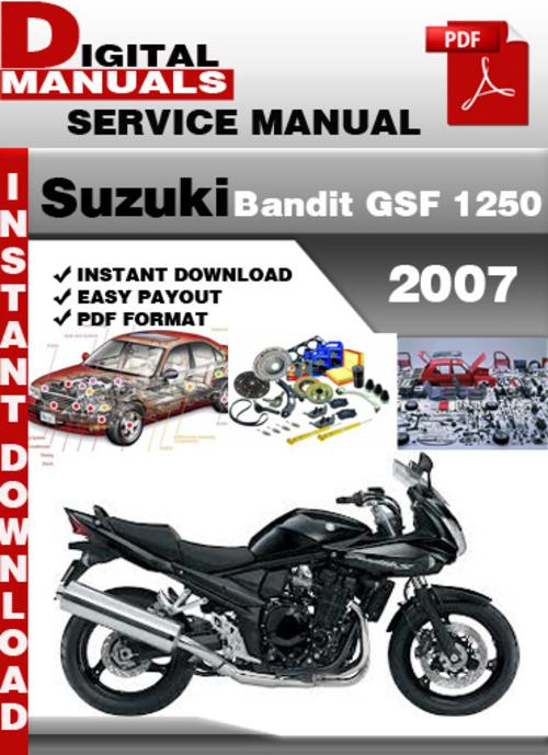 bandit best service manual download rh bestservicemanual com Suzuki VS800 Manual Suzuki Auto Repair Manuals
