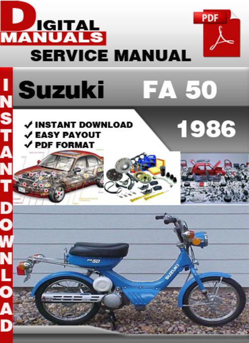 1986 Suzuki 50cc Manual
