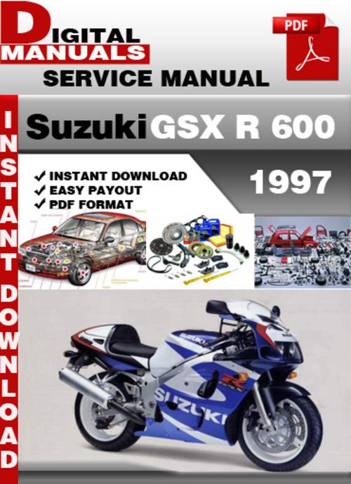 Suzuki Gsx R 600 1997 Factory Service Repair Manual Pdf