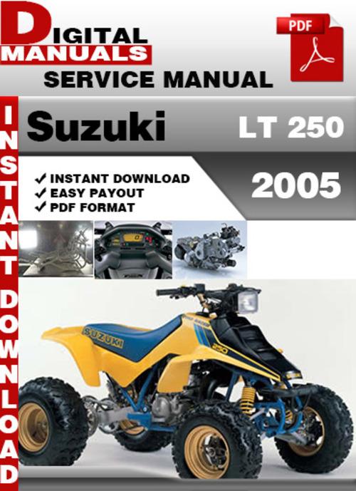 suzuki lt f160 service manual