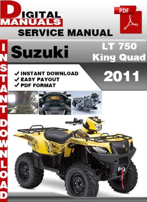 2011 Suzuki King Quad 400asi Service Manual