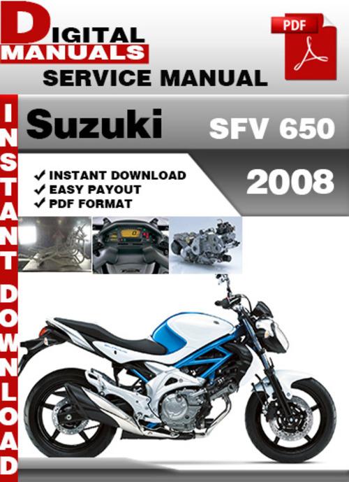 Free Suzuki SFV 650 2008 Factory Service Repair Manual Pdf Download thumbnail