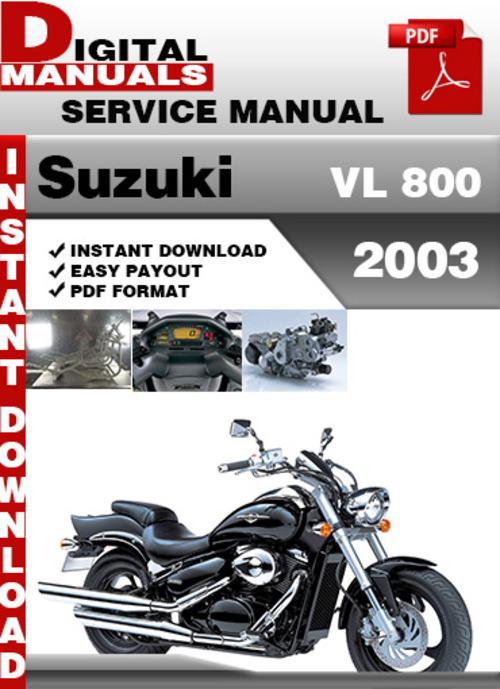 suzuki vl 800 2003 factory service repair manual pdf. Black Bedroom Furniture Sets. Home Design Ideas