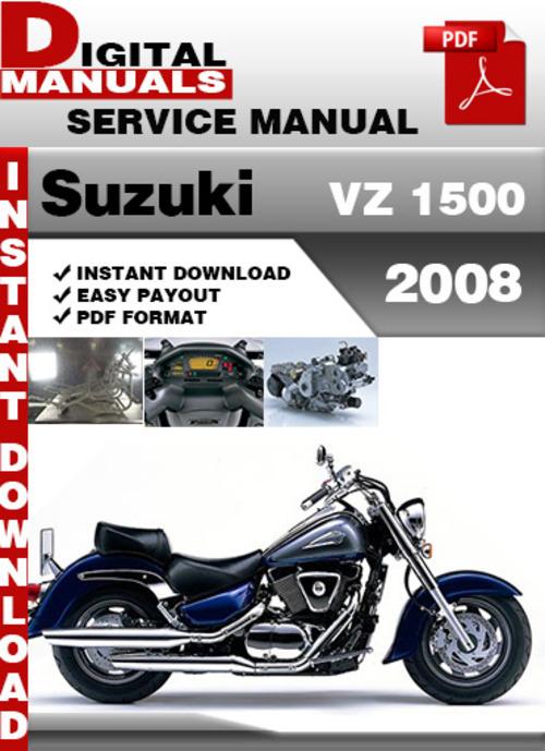 Free Suzuki VZ 1500 2008 Factory Service Repair Manual Pdf Download thumbnail