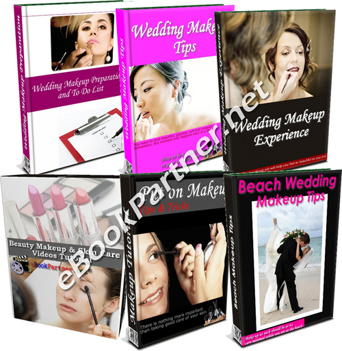 Pay for How to Apply Wedding Makeup Tutorial Manual + Video Clip