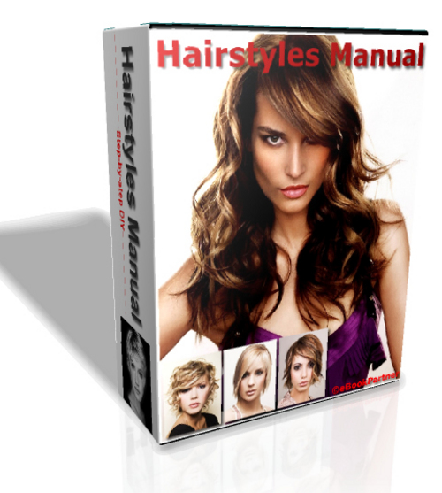 Pay for How to Apply Hairstyles, Hair Design Knowledge eBook Package
