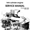 Thumbnail Kohler K482 K532 K582 K662 Twin Cylinder Engine Workshop Service & Repair Manual # 1 Download