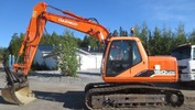 Thumbnail Daewoo Doosan Solar 150LC-V Excavator Operation Owner Maintenance Service Manual