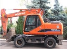 Thumbnail Daewoo Doosan Solar 180W-V Excavator Operation Owner Maintenance Service Manual