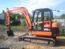 Thumbnail Daewoo Doosan Solar 55W-V Plus Excavator Operation Owner Maintenance Service Manual