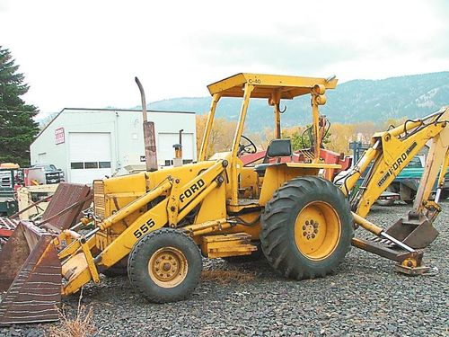 Ford 555d Backhoe Parts : Ford backhoe hydraulics moving slow myideasbedroom
