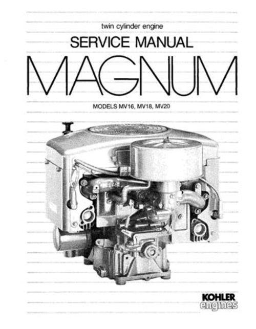 twin cylinder kohler engine manual  twin  free engine