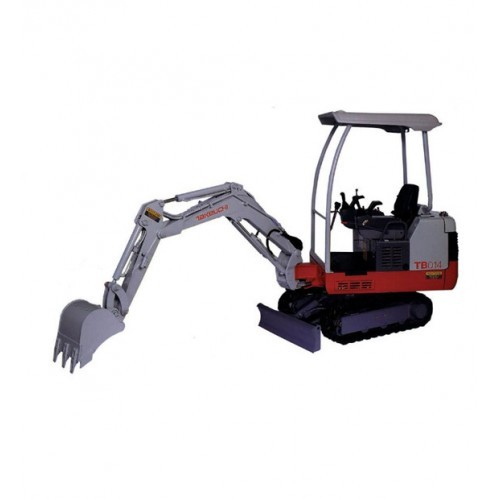 takeuchi tb014 tb016 compact excavator workshop service. Black Bedroom Furniture Sets. Home Design Ideas