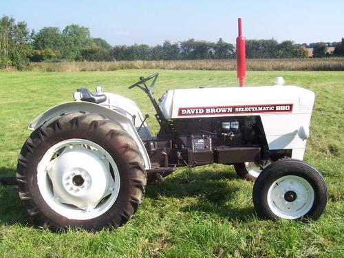 david brown 880 selectamatic tractor service parts catalogue manual rh tradebit com David Brown Tractors 500 David Brown Tractor Models