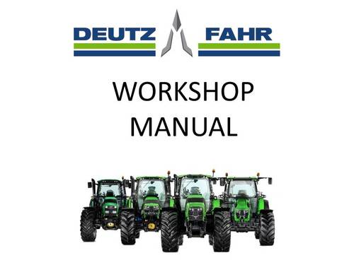 Pay for Deutz Fahr Agrokid 30 40 50 Tractor Workshop Service Manual # 1 Download