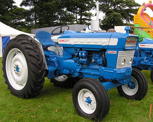 Ford Super Dexta Tractor Values : Fordson dexta super power major