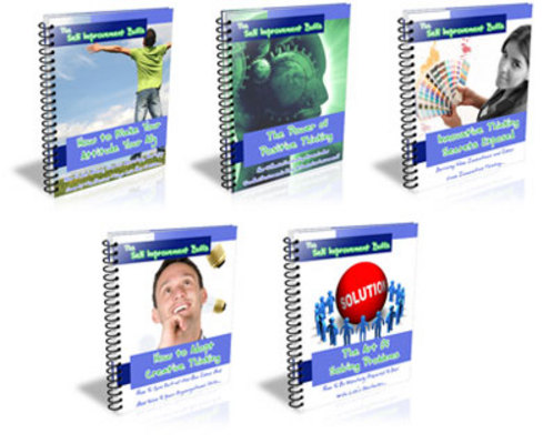 Pay for PLR MRR Self Improvement Buff Series plus 46 bonus Ebooks